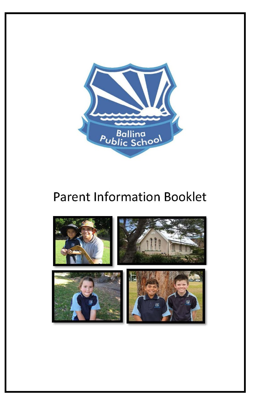 Picture of School Information Booklet